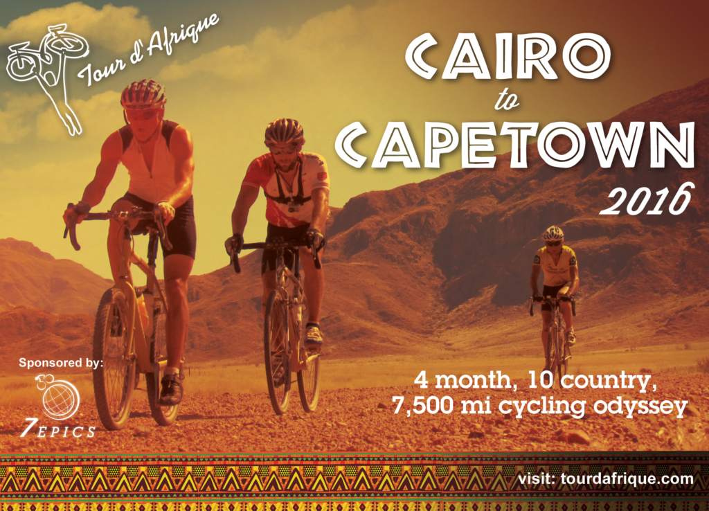 TDA Global Cycling Challenge to Donate Bicycles in Africa